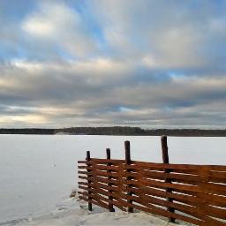 snow landscape naturephotography sky clouds