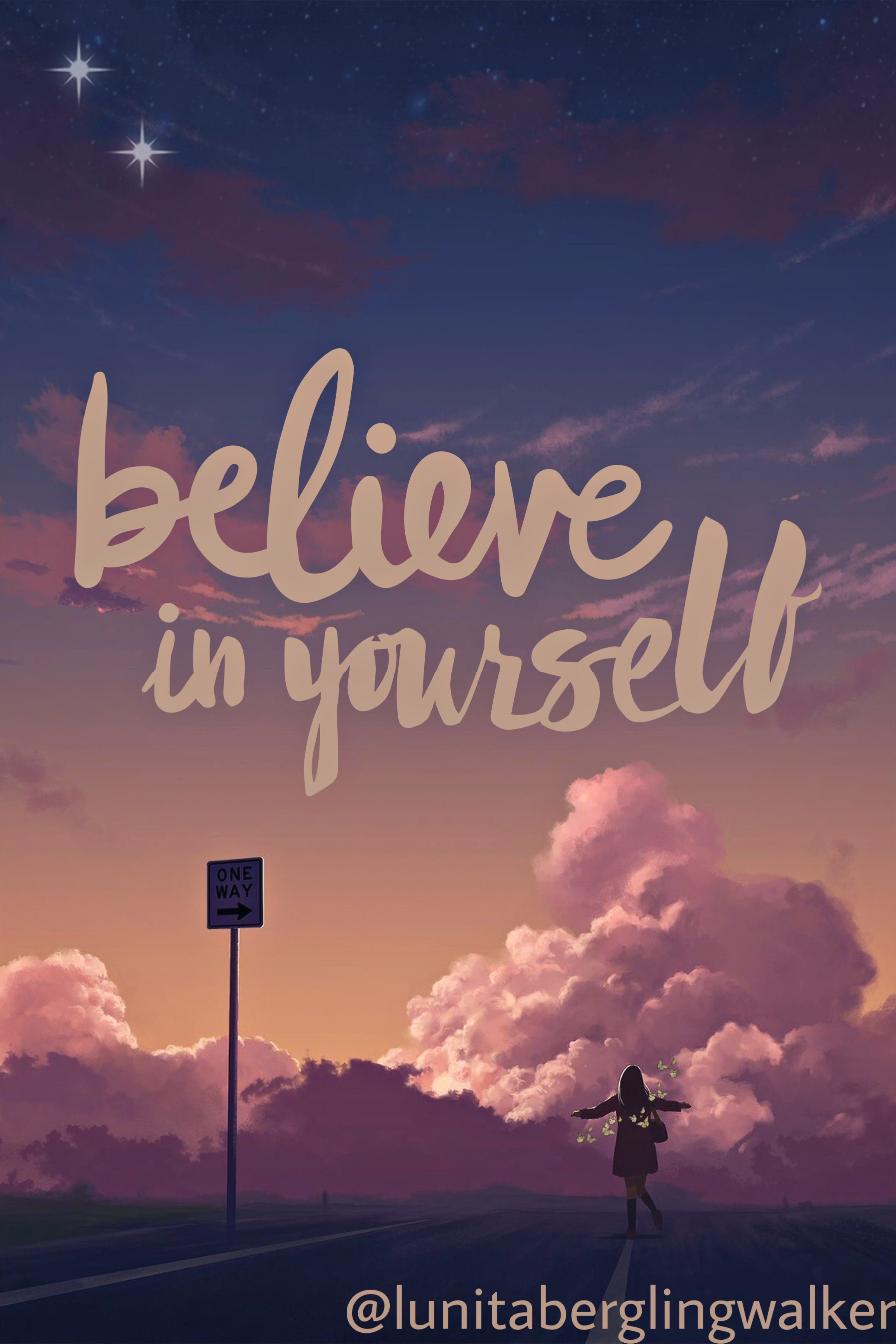 #background #believeinyourself #believe #believer #backgroundaesthetic #backgroundtumblr #tumblr #aesthetic #sunset #purple #black #orange #yellow #sky #bu