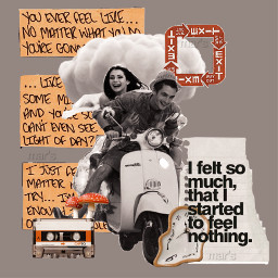 interesting art music collage aesthetic heypicsart charlidamelio yellow red couple quotes cassette clocks clouds mushroom exit paper newspaper argentina vintage motorcycle editedwithpicsart night party people freetoedit