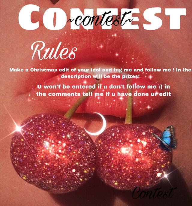 Prizes: 1st will be a like spam,a follow,added to my tag list, ahoutout and an edit about you 2ndwill be a like spam and edit about you 3rd will be a like spam and added to my tag list 4th will be like spam 5th will be a shoutout  #contest #pleasejoin   Taglist: @amy13white  @charxclouds  @heatherrosehere  @azzyrose11  @snowmeliooo