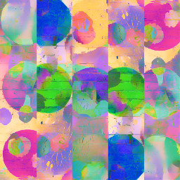 freetoedit colorful color circles dots collage