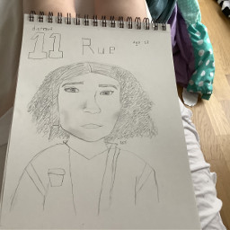 hungergames rue drawing