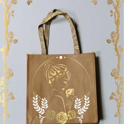 gold bag oro borsa rose ircdesignthebag freetoedit