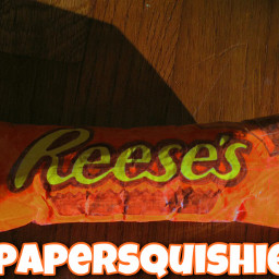 freetoedit reesescup reeses chocolate papersquishy aesthetic taglist like interesting crafts fonts peanutbutter
