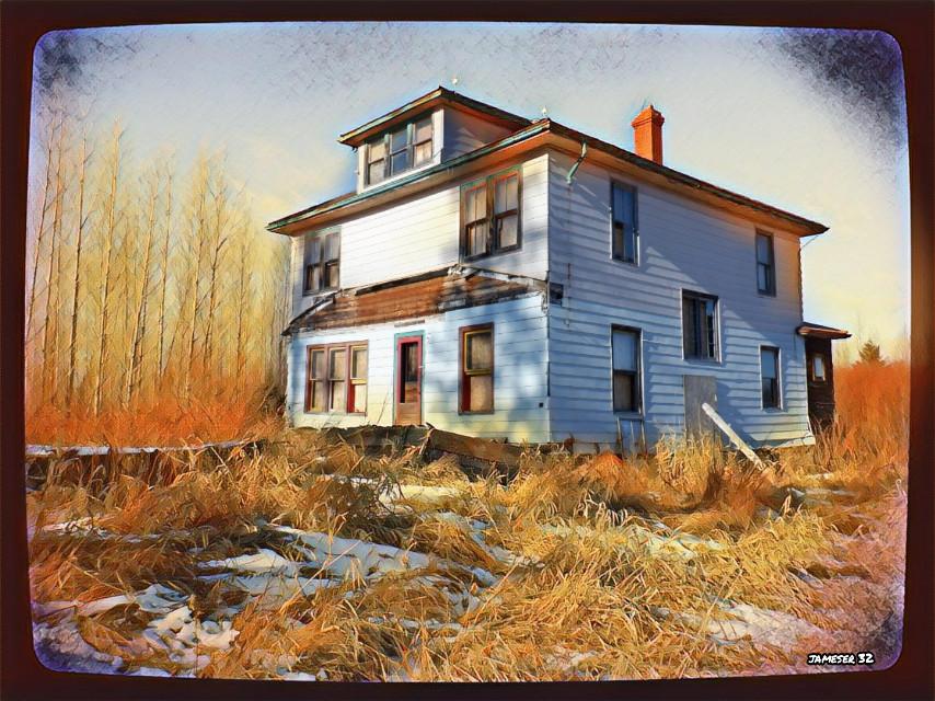 #photography #colorful #winter #farm #farm #farmhouse   #Abandoned