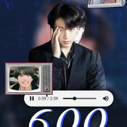 jungkook bts army aesthetic startist 600 thankyou btsjungkook jungkookie❤ freetoedit jungkookie