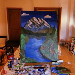 art canvas paint