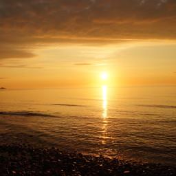 sunset ocean inspirational pcmyinspiration myinspiration