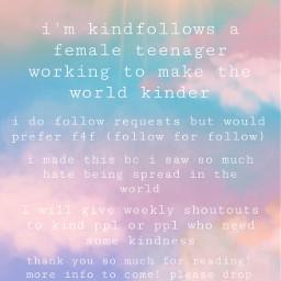 kind kindness kindnessmatters kindnessiskey f4f freetoedit