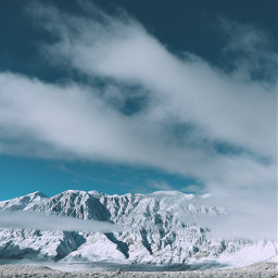 winter landsdape sky clouds cloud blue snow mountains mountain photography nature midnight aesthetic white portrait freetoedit day night remixit shrubs