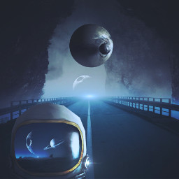 madewithpicsart scifi astronaut mystery fantasy