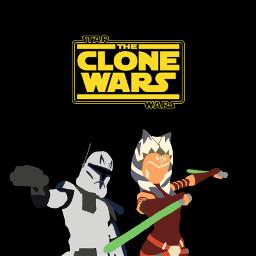 ahsokatano ahsoka tano rex captainrex clonetrooper clonewars starwars starwarsedit freetoedit
