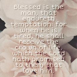 temptation loveofgod consolations bibleverse blessings crownoflife freetoedit