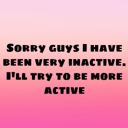 post inactivesorry