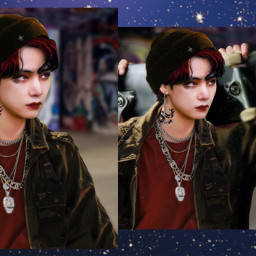 taehyung bts btsedit kpopedit taehyungedit taehyungbts dark grunge aesthetic freetoedit