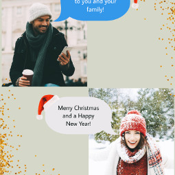 freetoedit callout callouts christmas christmasspirit merrychristmas collage sparkles text message messages