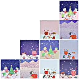 charliebrownchristmas collage likeandfollow