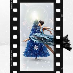 ballerina beautiful christmas melanin freetoedit srcfilmstar filmstar