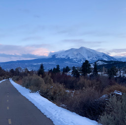photography sunsetphotography naturephotography snow sunset