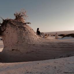 desierto dunasdebilbao coahuilamexico desert sunset desertsand sanddunes miinspiracion freetoedit pcmyinspiration myinspiration