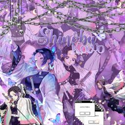 demonslayer shinobukochou purpleaesthetic freetoedit