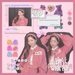 pink twice dahyun cryforme kpop 80 cute dahyunkim kpopidol music girly december freetoedit