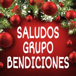saludos navidad grupo bendiciones freetoedit