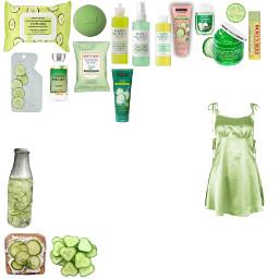 spa day spaday cucumber freetoedit