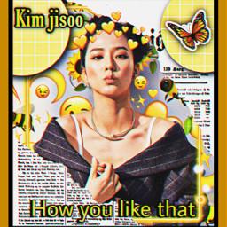 freetoedit kpop blackpink blink jisoo kimjisoo