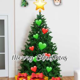 christmas christmastree christmasspirit emoji emojibackgrounds christmas2020 freetoedit ircdecorateyourdreamtree decorateyourdreamtree