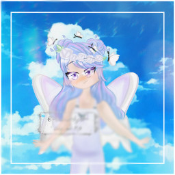 sky gachaclub gacha gachaoc request editrequest gachacluboc oc girlob girl drawing digitaldrawing digitalart art fairy