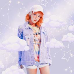 freetoedit kpop wjsn edit girlgroup kpopgirlgroup purple aesthetic purplegalaxy