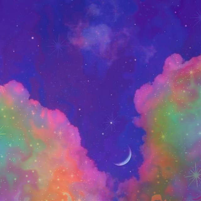 #freetoedit #cotton#moon#stars#moonlight#astheticbackground#asthetic#sky#purplesky#collorful#bts#sparkle#gloomy#spotlight#swwet#peaceful#clouds#cloudsky#yellowaesthetic #beautiful#wonderful#neon#neonsky#starlightstarbright #peaceful