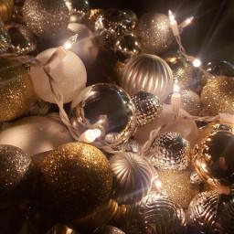ornaments lights christmas wreath handmade gold silver myoriginalphoto merrychristmas happyholidays christmasspirit freetoedit