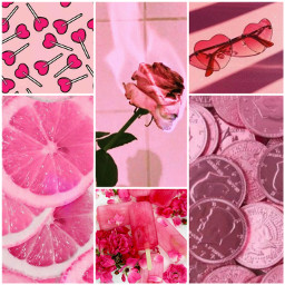 freetoedit aesthetic pink vibes aestheticcollage