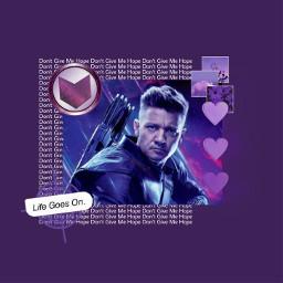 freetoedit purple aesthetic purpleaesthetic hawkeye clintbarton clint barton avengers jeremyrenner jeremy renner avengersendgame dontgivemehope - the dontgivemehope
