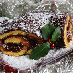 freetoedit myphotography christmascake yulelog chocolate chestnutcream handmade homemade