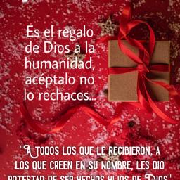navidad navideñas navideños dios jesús jesus jesucristo cristo jehová fe bendiciones bendecir oración orar paz ánimo esperanza versiculos amén gloriaaadios biblia confianza confiar