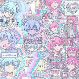 karmaakabane nagisashiota assassinationclassroom shiota akabane filter bling collab yeah editor icon iconic animeboy animegirl