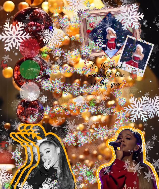 🎤🎄Ariana Grande🎤🎄 MERRY CHRISTMAS EVERYBODY I HOPE YOU HAVE AN AMAZING ONE #arianagrande #christmas #christmasspirit #redgreenwhite