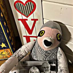 sloth petsandanimals toy mymom mydad pic love imissyoumom iloveyoudad