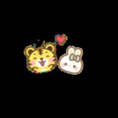 taekook vkook tiger bunny cybertaekook cybervkook cyberkookv cyber cute freetoedit