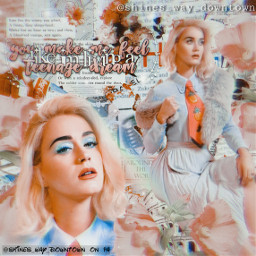 katyperry shines_way_downtownedits edit edits collage interesting photography people celebrity music singer katy perry katyperryedit katyperryfreetoedit pink colors heypicsart be_creative freetoedit complextext flowers beauty album songs