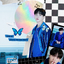 colourful99_ suga bts be journal