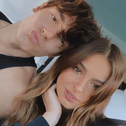 freetoedit addisonrae brycehall tiktok couple selfie love cute boy girl remixit makeawesome heypicsart picsart replay beauty