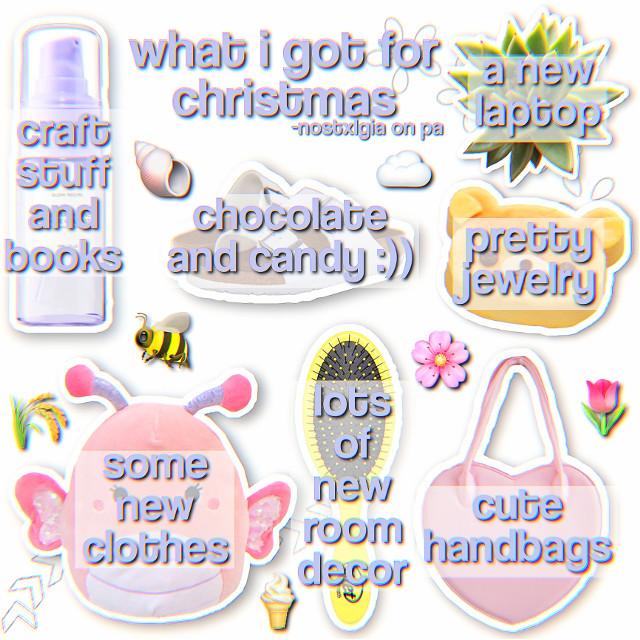 ↳ ∼ ❝{ -𝚗𝚘𝚜𝚝𝚡𝚕𝚐𝚒𝚊 𝚓𝚞𝚜𝚝 𝚙𝚘𝚜𝚝𝚎𝚍 }❞ ∽ ° ⋆, •☆    ♡~🌱,–🪐 ও* ❛ ✨ ˞ ∗   ⁑– 𝙤𝙥𝙚𝙣? ✎~ ,*• ❋~ 🅨🅔🅢 | ⓝⓞ ° ۵❜-*  𝙩𝙞𝙩𝙡𝙚: what i got for christmas 2020 𝙙𝙖𝙩𝙚: 12/26/20 𝙩𝙞𝙢𝙚: 6:25 pm 𝙢𝙤𝙤𝙙: 😌 𝙬𝙚𝙖𝙩𝙝𝙚𝙧:🌙 𝙨𝙪𝙗𝙟𝙚𝙘𝙩: christmas 𝙩𝙞𝙢𝙚 𝙩𝙖𝙠𝙚𝙣: 30-40 minutes idk 𝙖𝙥𝙥𝙨 𝙪𝙨𝙚𝙙: picsart, phonto, polarr 𝙚𝙙𝙞𝙩 𝙩𝙮𝙥𝙚: niche 𝙞𝙣𝙨𝙥𝙤: idk there's a lot of people doing these :) 𝙨𝙤𝙩𝙙: @-grcnde 💕 𝙛𝙤𝙡𝙡𝙤𝙬𝙚𝙧 𝙘𝙤𝙪𝙣𝙩: 225??? idk 𝙛𝙤𝙡𝙡𝙤𝙬𝙚𝙧 𝙜𝙤𝙖𝙡: 250  ε❁ ⁑-🍡~•° ♡📀_•∞*  𝙣𝙤𝙩𝙚𝙨:  ❝Hey kiddos! We're back to the old desc again! I kind of enjoy how simplistic it is, but it needs a few changes for sure. One of them being fixing the taglist hehe:)) So if you weren't tagged in this post, don't worry, I didn't forget you, I just haven't completely updated my tags for this lol. Also, I kinda changed up how I did my niche here, and I kind of like it, it seems more full and allows me to include more! Let me know if you like this or the other type I make. Oke, well I love you all byeee!❞  *•❍ -, ও_ ࿏ ° ✰‧~ε  𝙩𝙖𝙜𝙨:~ @_miss_sushi_ @not_chloe very kind and very sweet💕 @pinkcqndy @guccifuvl @-plqsticglcw @fqirygloss @glcssypearl @mikaxel @glcssybobq- @haileybeans9 @duxanny @kittyrabbit2 @lizzie_has_sunshine @sunset-skyline @fqirydxst- @_slytherinbb_ ily💗 @aloeshqne my among us buddy😌💕 @sophie6612 @oliviarhiannonx hehe💗 @avtumncxffee @-mintyrain @glossywood @macsaesthetics💞 @-strqwberry @nichegxrls @grandesbqba- @ariana_editz7 @lediia__a   ❝💗❞𝚒𝚏 𝚢𝚘𝚞 𝚠𝚊𝚗𝚝 𝚝𝚘 𝚋𝚎 𝚊𝚍𝚍𝚎𝚍 𝚝𝚘 𝚝𝚊𝚐𝚜 ❝🪐❞ 𝚒𝚏 𝚢𝚘𝚞 𝚠𝚊𝚗𝚝 𝚝𝚘 𝚋𝚎 𝚛𝚎𝚖𝚘𝚟𝚎𝚍 ❝🌱❞ 𝚒𝚏 𝚢𝚘𝚞 𝚌𝚑𝚊𝚗𝚐𝚎𝚍 𝚢𝚘𝚞𝚛 𝚞𝚜𝚎𝚛𝚗𝚊𝚖𝚎  𝙝𝙖𝙨𝙝𝙩𝙖𝙜𝙨:~ #niche #cute #nichememe #niches #nichememes #nichememeaccount #nicheaesthetic #aesthetic #stickers #picsart #phonto #polarr #filter #gifts #edit #christmas   ⓐⓝⓨ ⓔⓧⓣⓡⓐⓢ/ⓒⓡⓔⓓⓘⓣⓢ: none :))