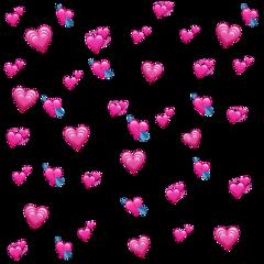 freetoedit back xmas pink hearts background
