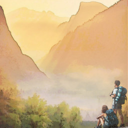 wanderer wandering mountains