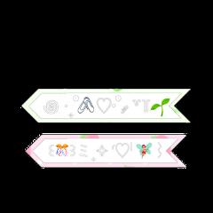 fairy garden aesthetic overlay overlays png pink green emoji iphone apple flower pngoverlay freetoedit