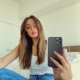 freetoedit addisonrae selfie iphone11 white jeans me makeawesome remixit beauty heypicsart picsart photooftheday tiktok replay camera
